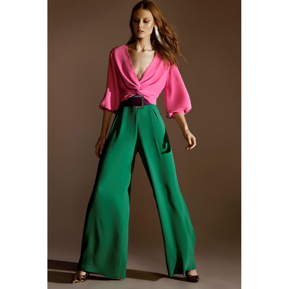 Calca-Pantalona-Verde