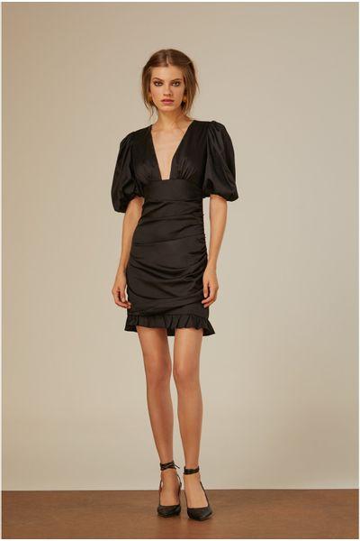 Vestido-Tricoline-Preto