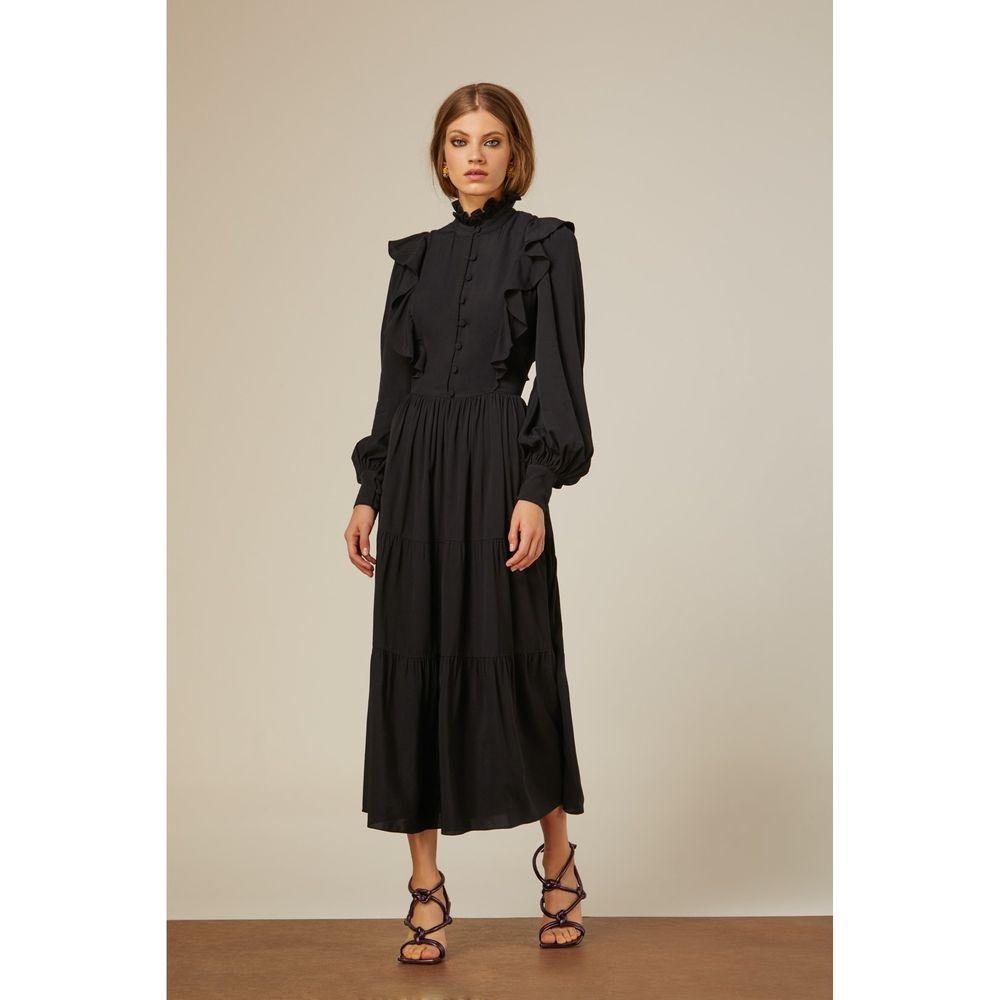 Vestido-Midi-Camadas-Preto
