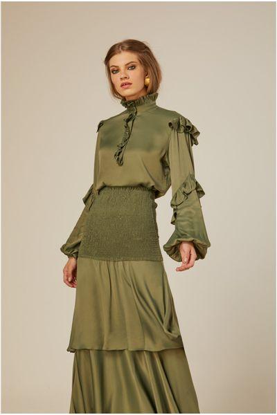 Camisa-Babados-Verde