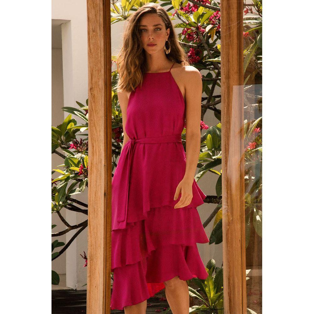 Vestido-Midi-Camadas-Pink