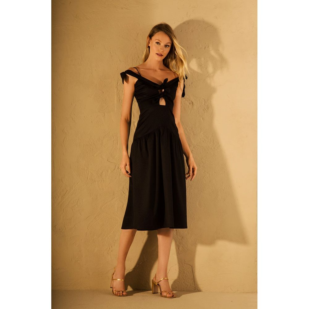 Vestido-Cotton-Lacos-Preto