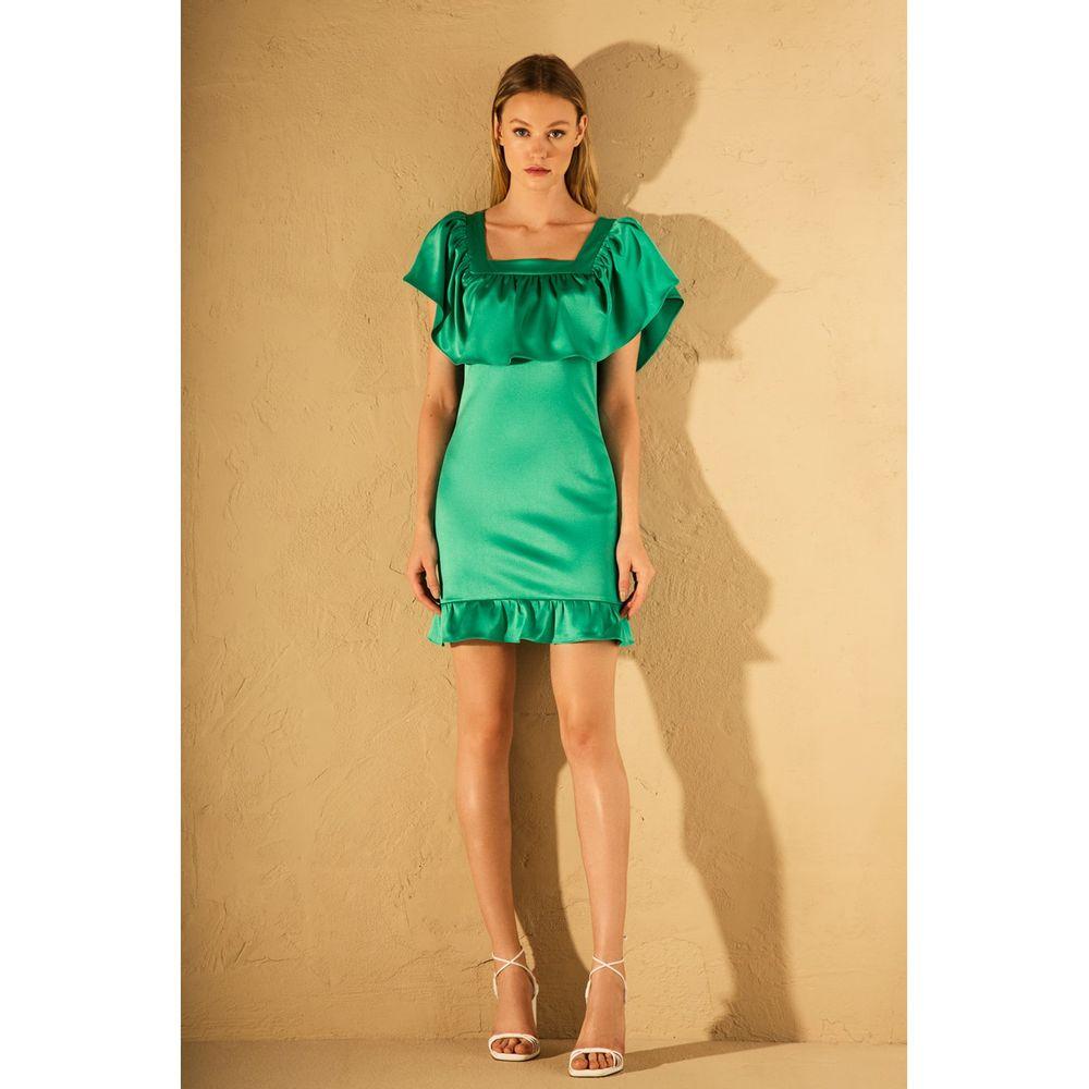 Vestido-Decote-Quadrado-Verde