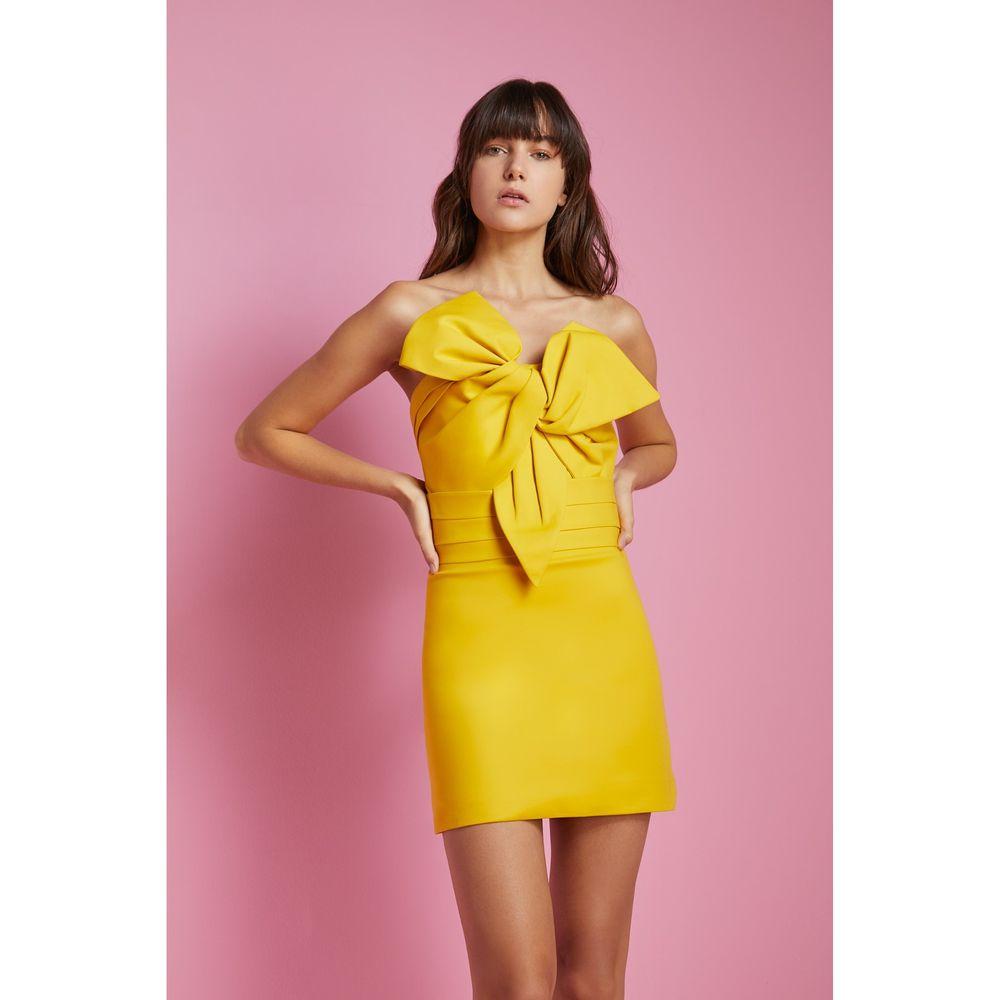 Vestido-Decote-Laco-Amarelo