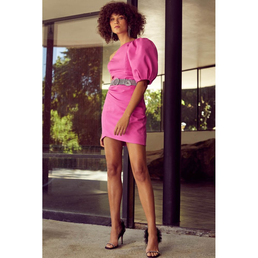 Vestido-Ombro-Puff-Pink