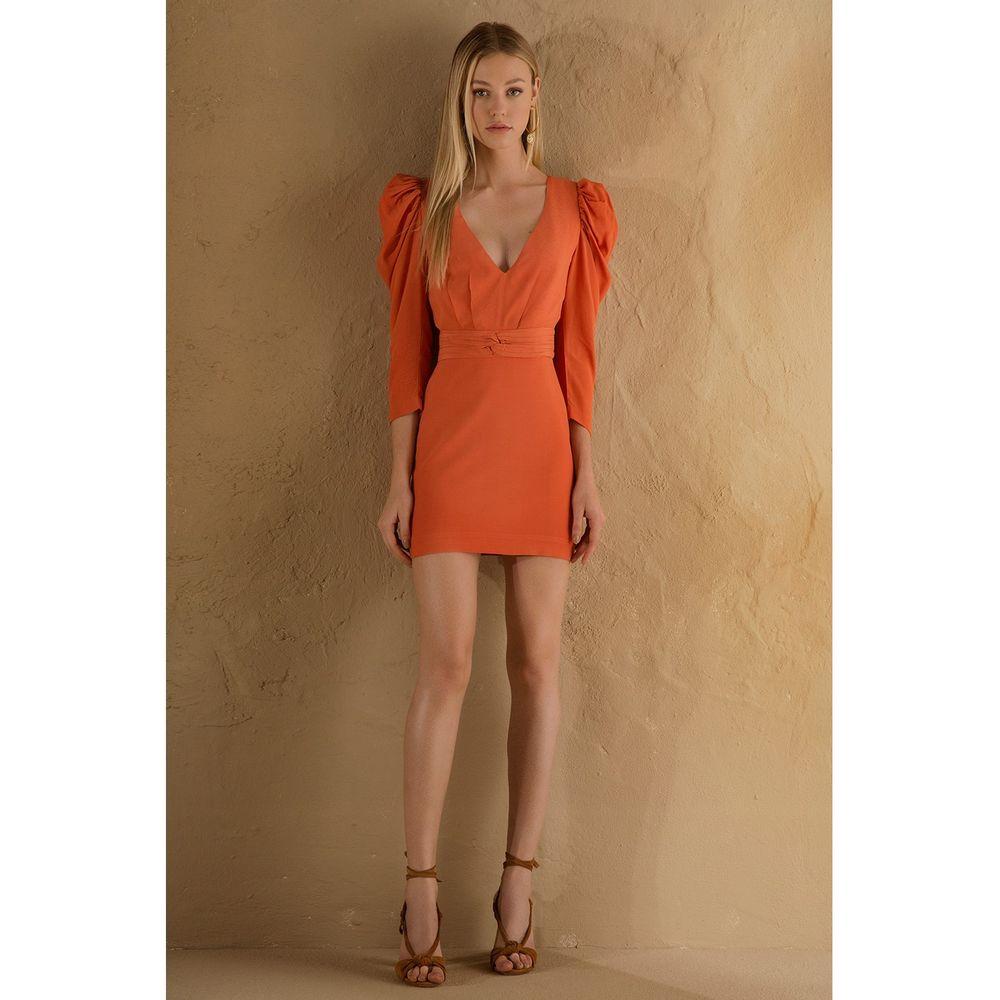 Vestido-Puff-Coral