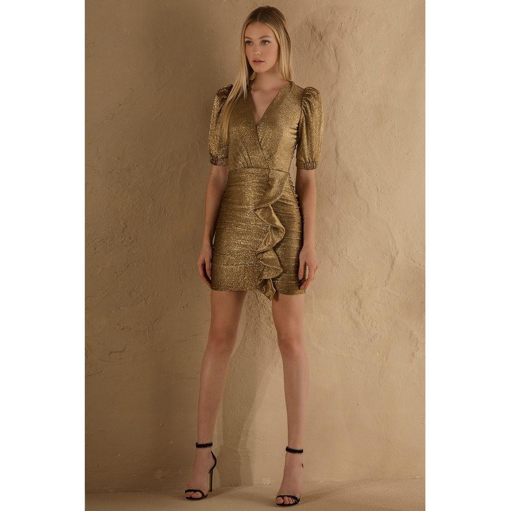 Vestido-Curto-Metalizado-Ouro