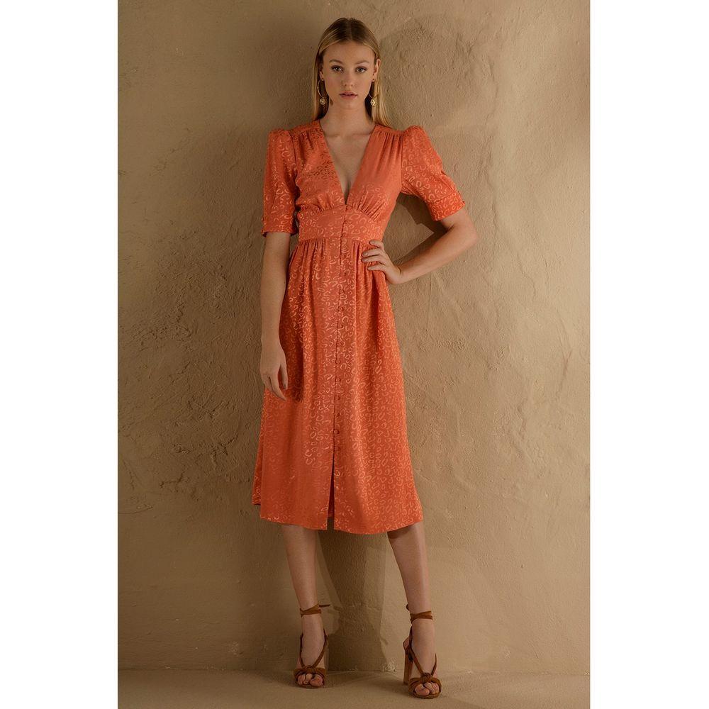 Vestido-Midi-Faconne-Coral