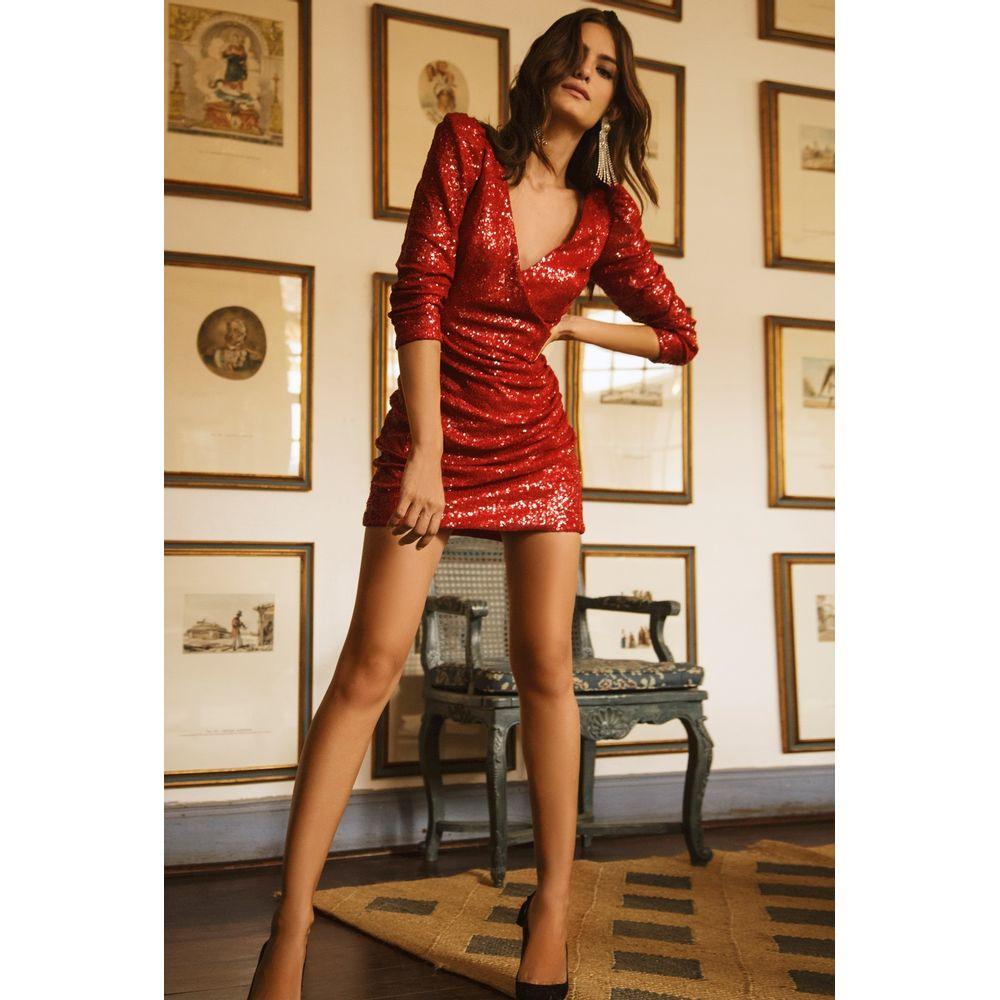 Vestido-Paete-Vermelho