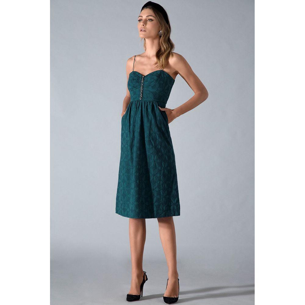 Vestido-Midi-Laise-Verde
