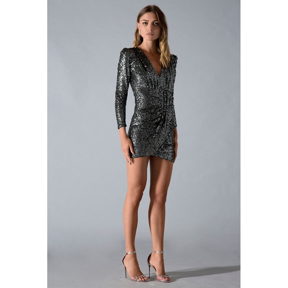Vestido-Paete-Silver