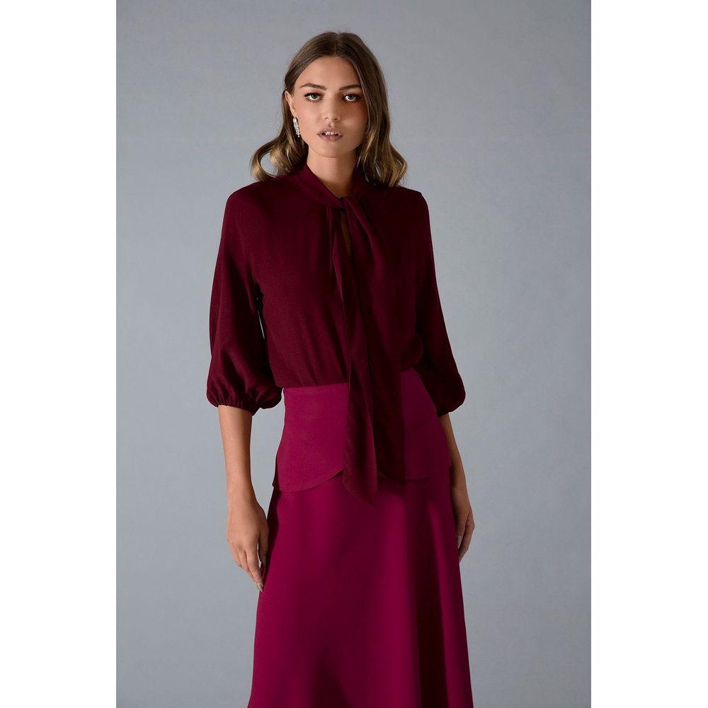 Camisa-Foulard-Cereja