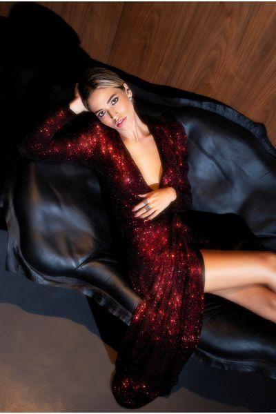 Vestido-Longo-Paete-Vermelho