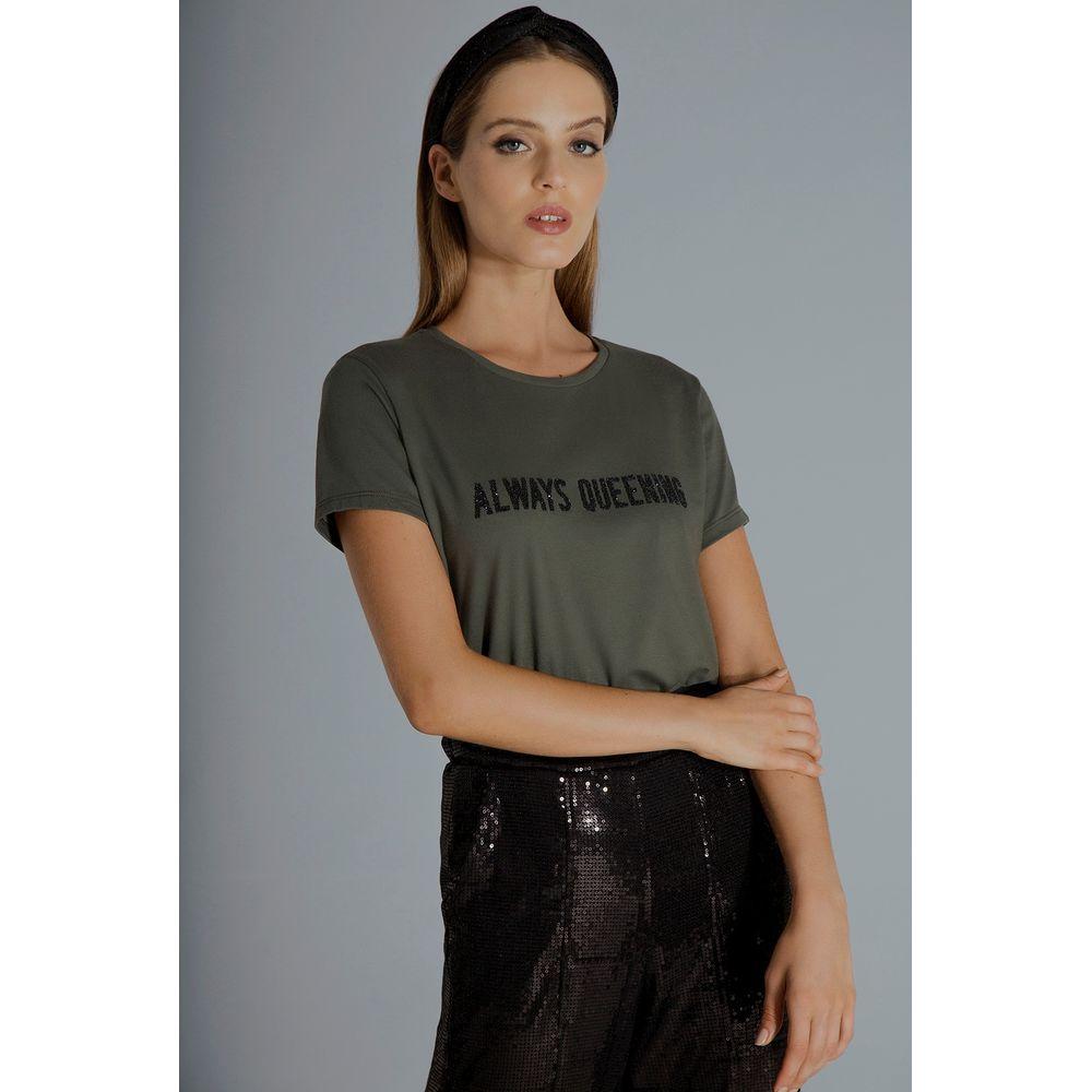 T-shirt-Verde-Always-Queening