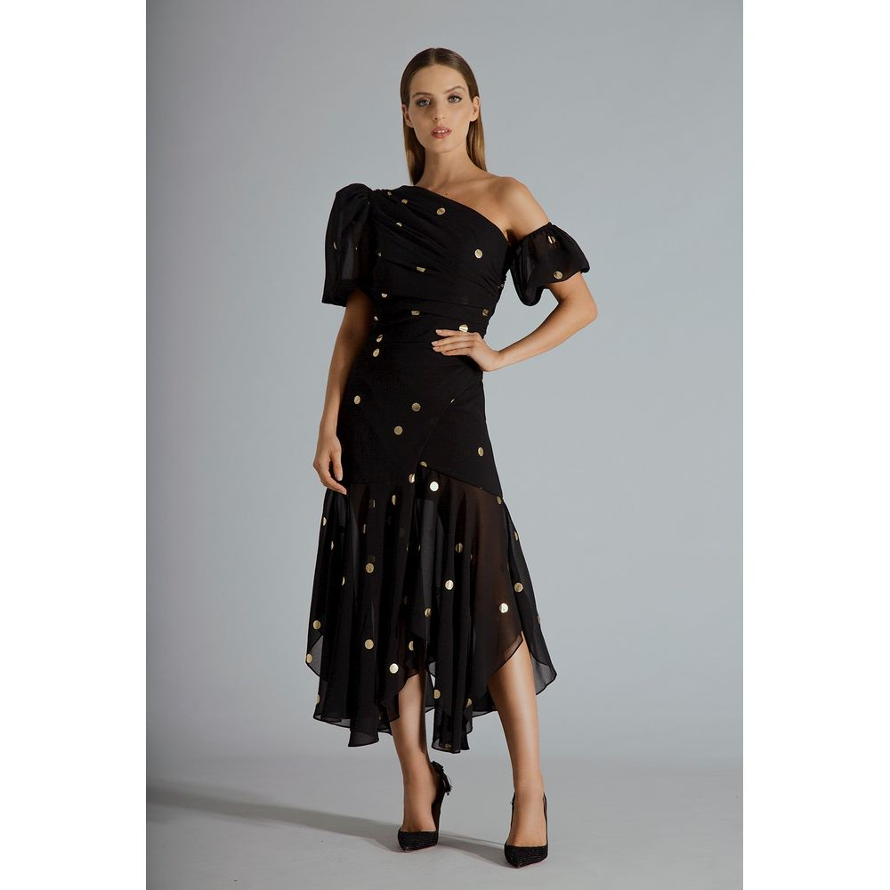 Vestido-Midi-Ombro-Poa