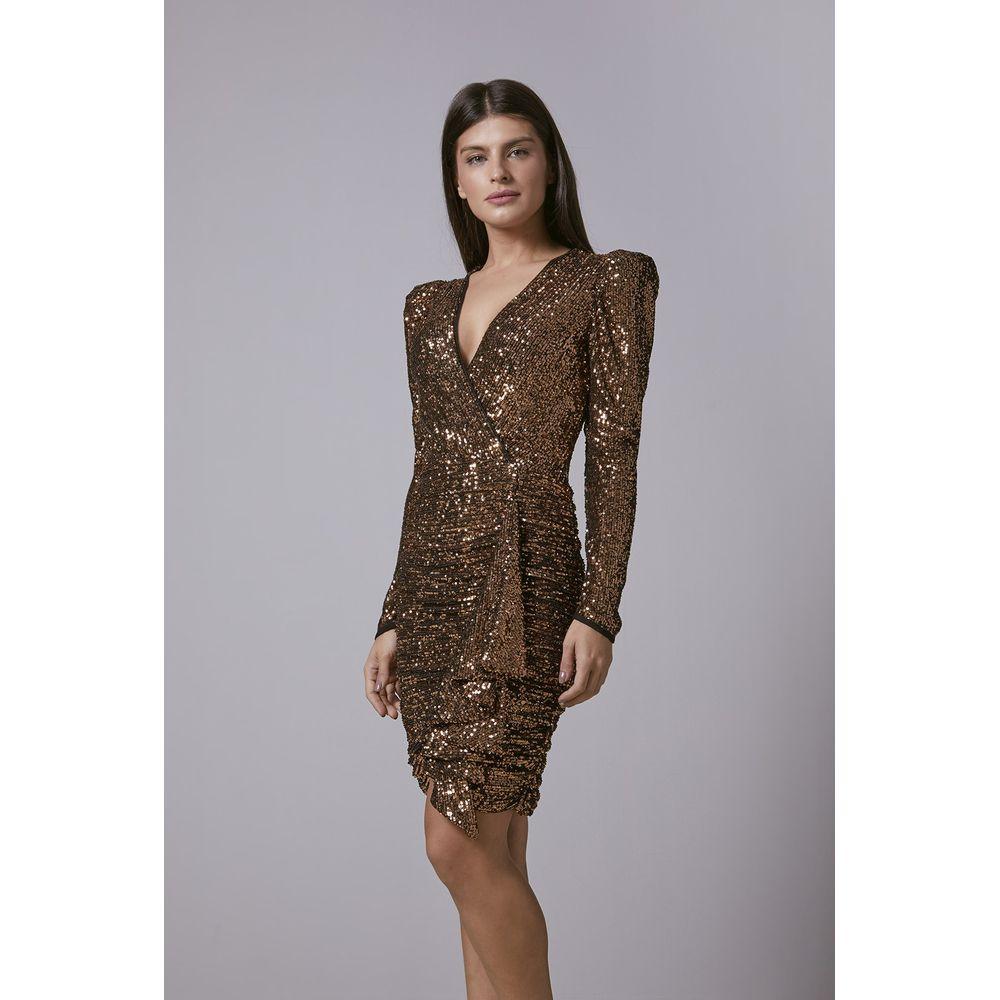 Vestido-Paete-Bronze