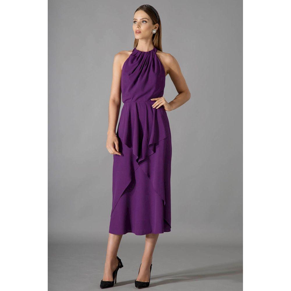Vestido-Midi-Babados-Violet