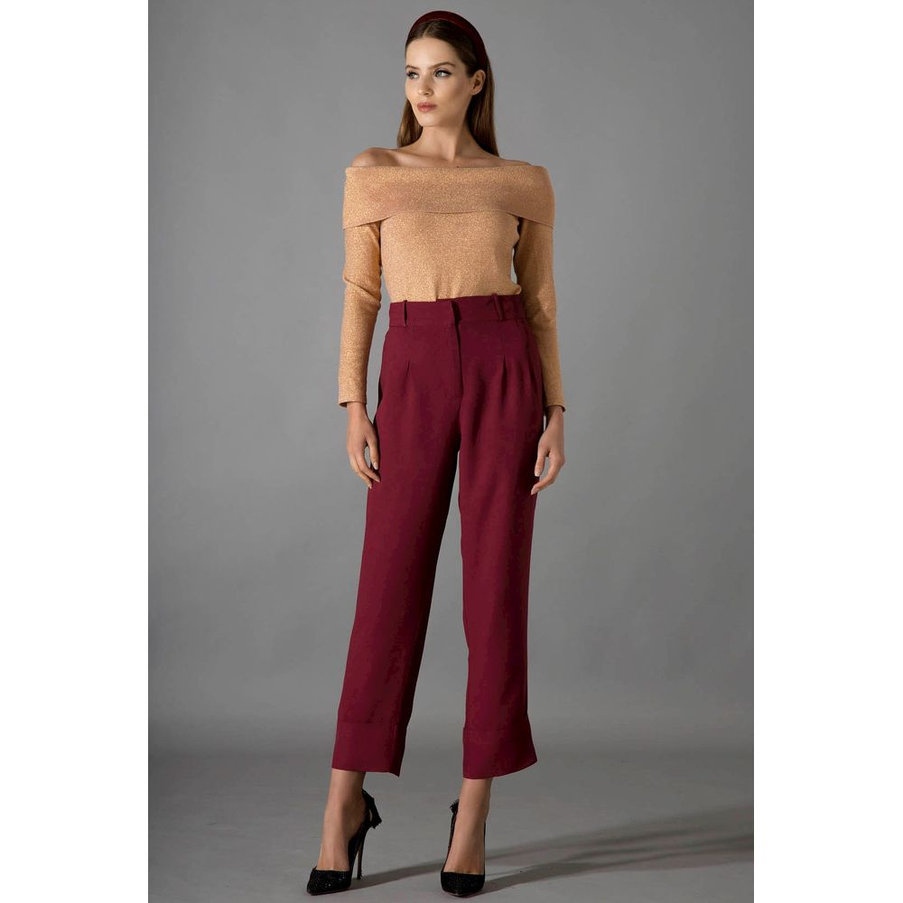Calca-Cropped-Bordo