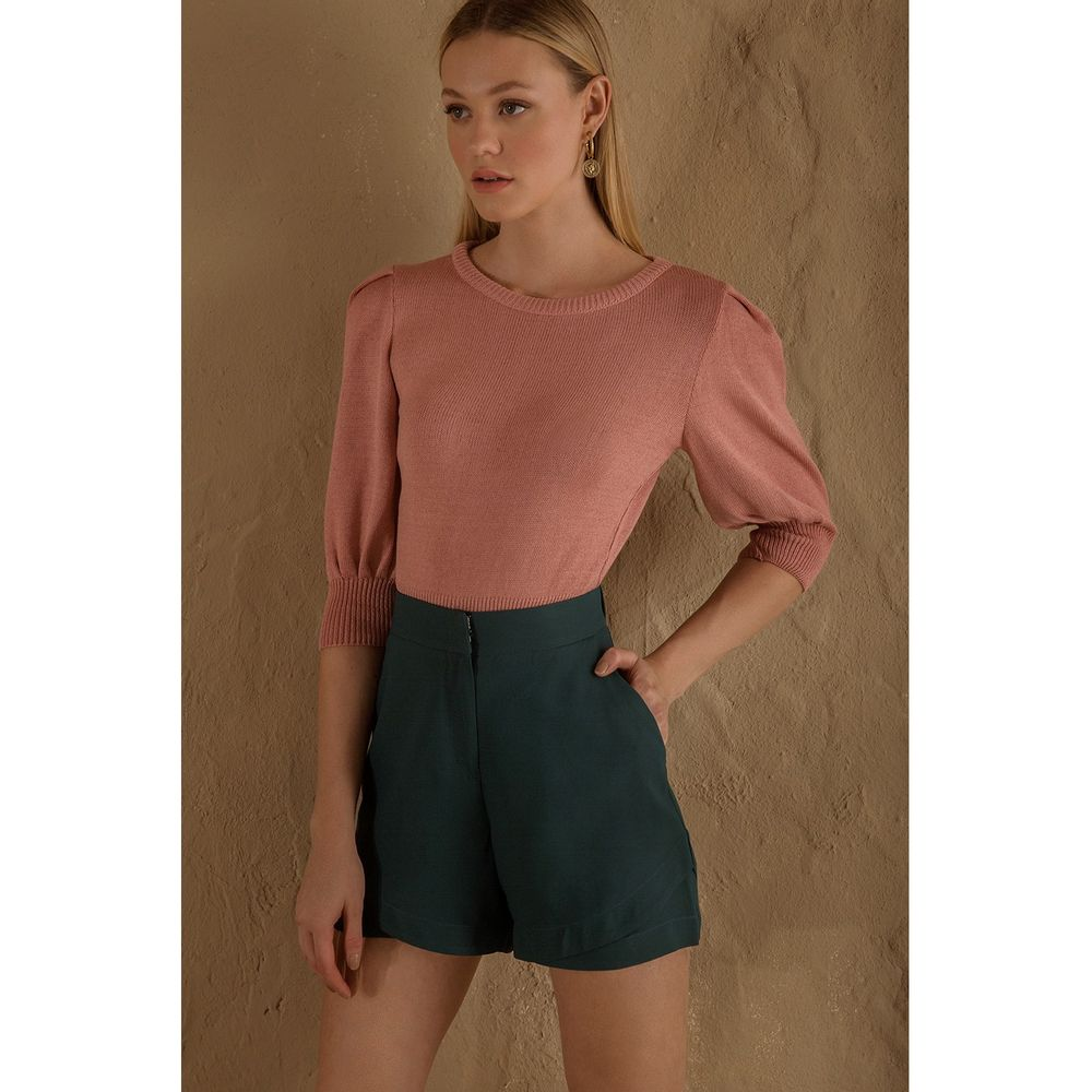 Cropped-Tricot-Puff-Rose