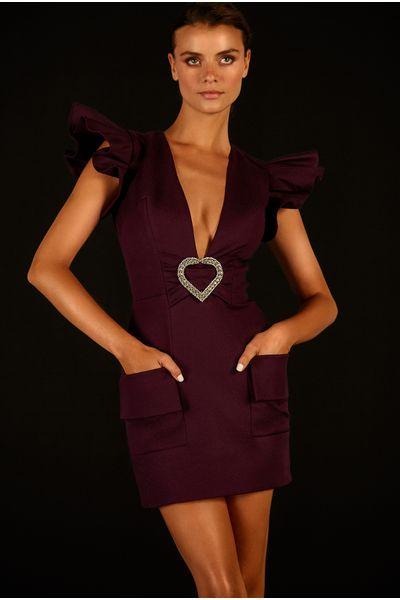 Vestido-Curto-Broche
