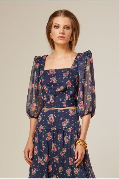 Cropped-Decote-Quadrado-Dark-Floral