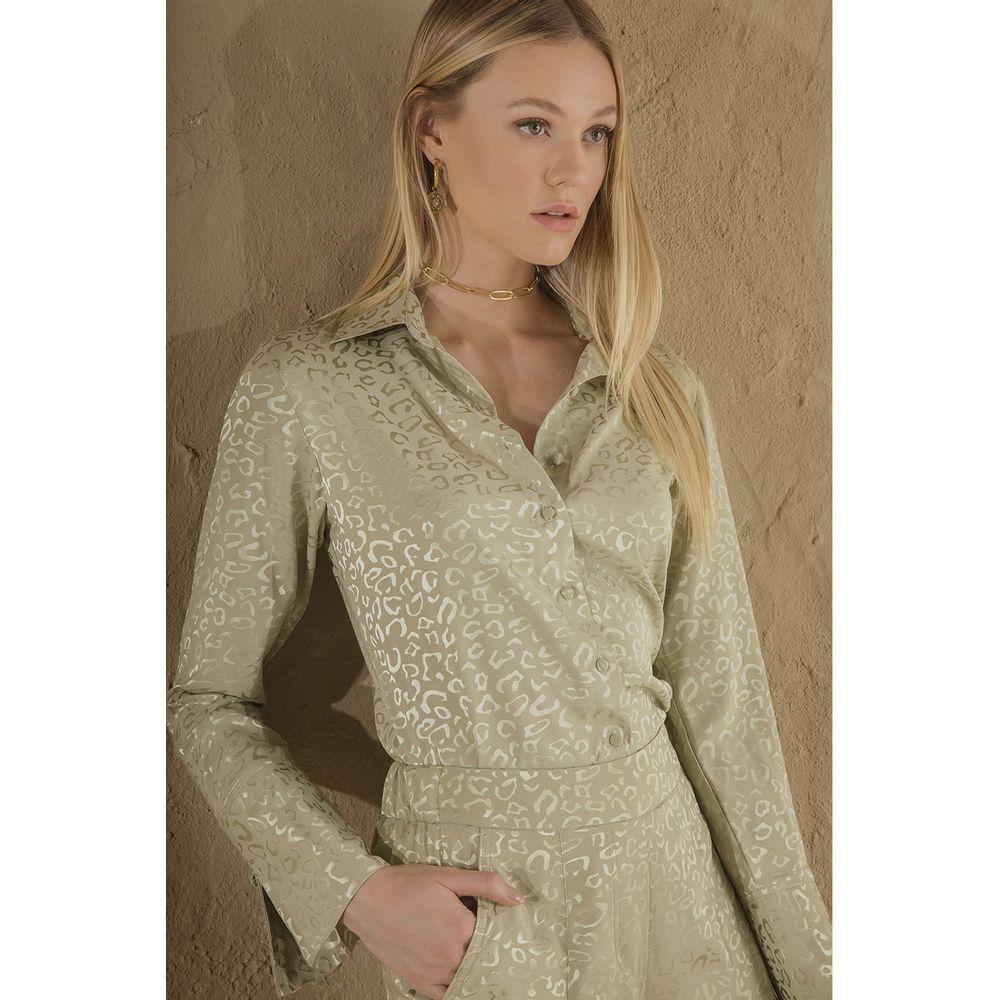 Camisa-Onca-Faconne-Verde