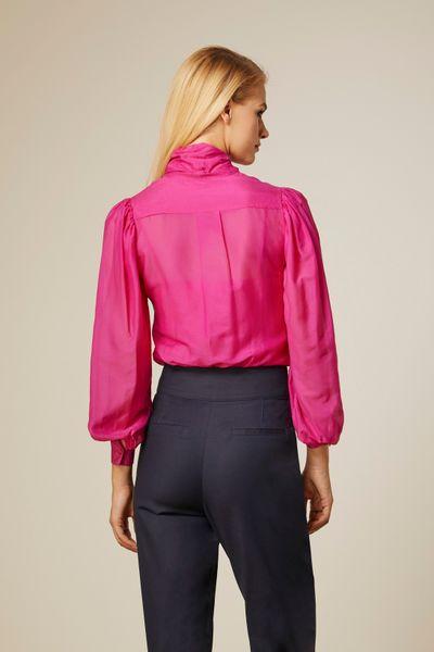 Camisa-Foulard-Pink