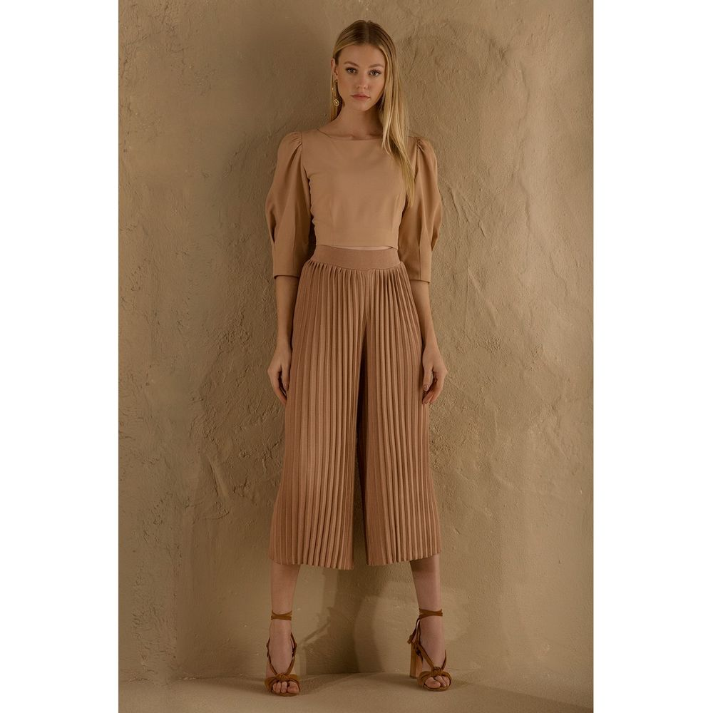 Cropped-Crepe-Nude