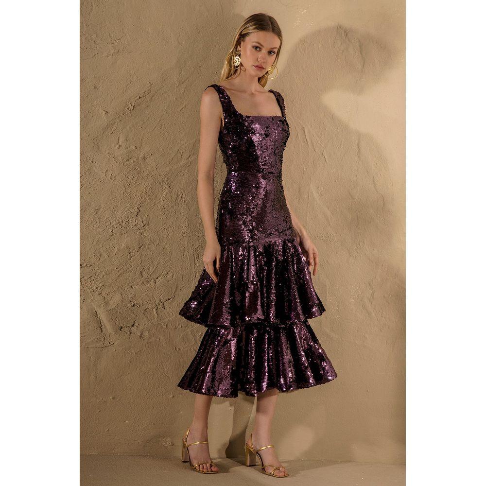 Vestido-Longuete-Paete-Roxo