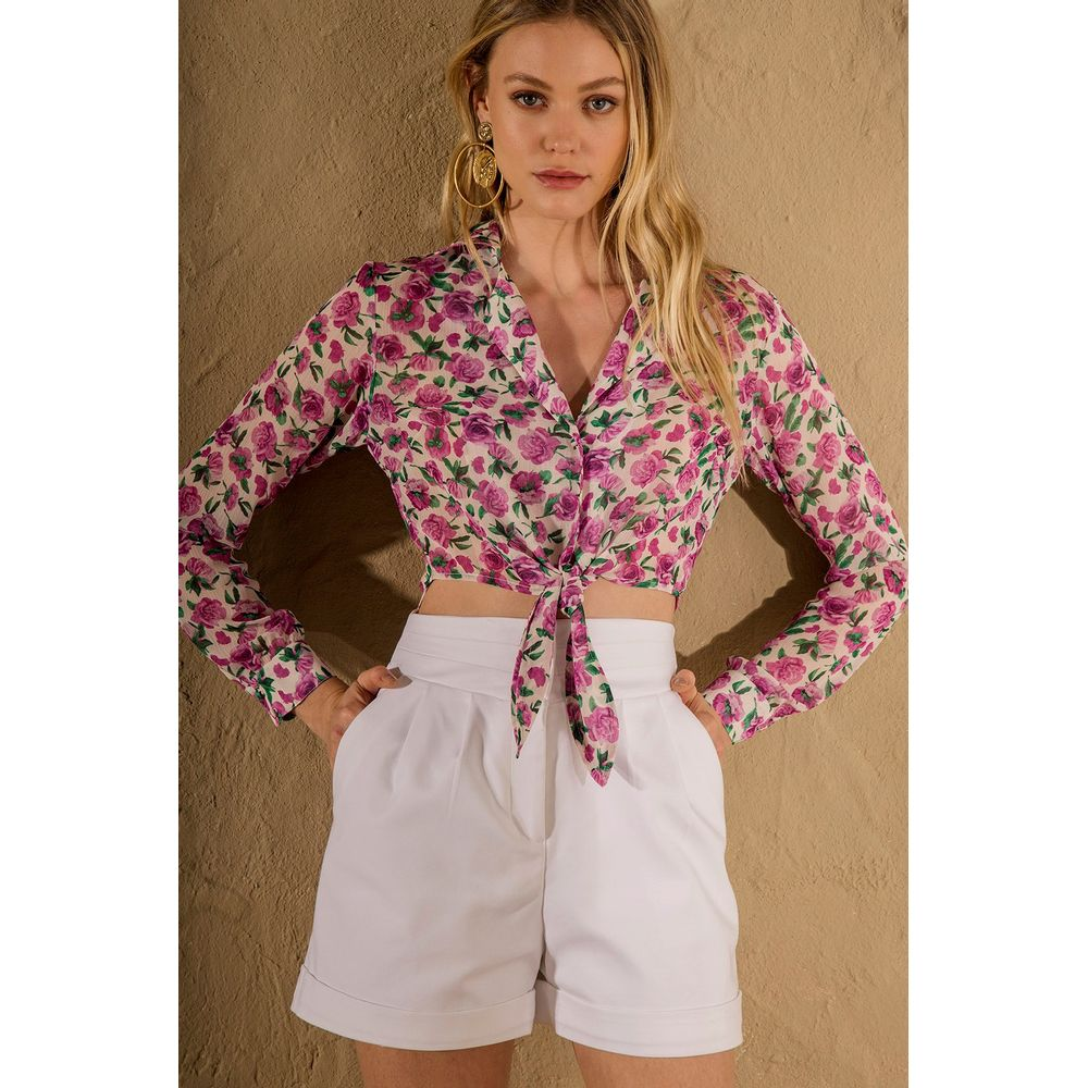 Camisa-Cropped-Mini-Floral