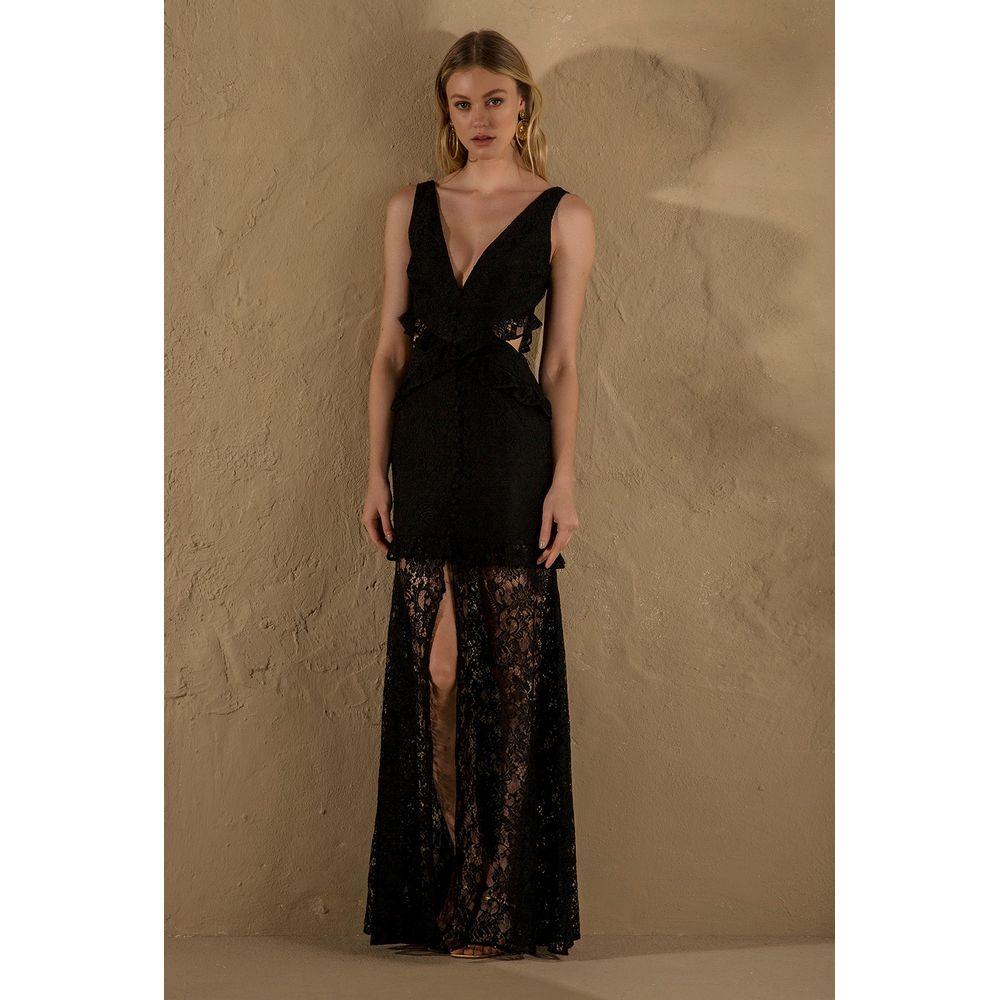 Vestido-Renda-Recorte-Preto