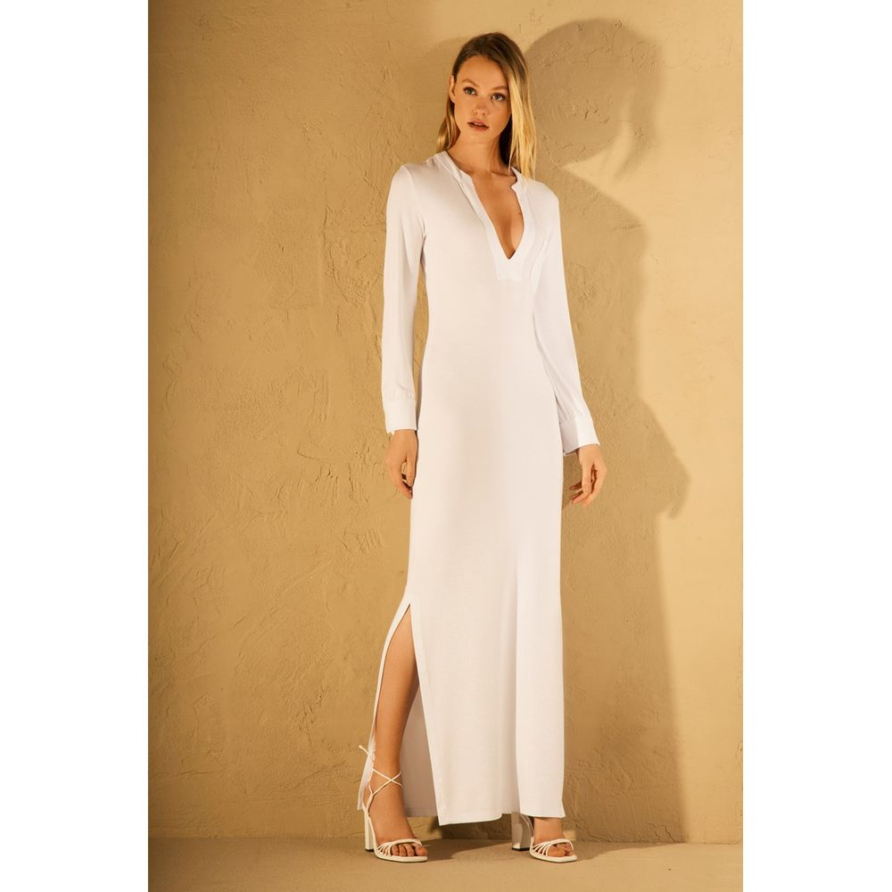 Vestido-Longo-Fenda-Branco