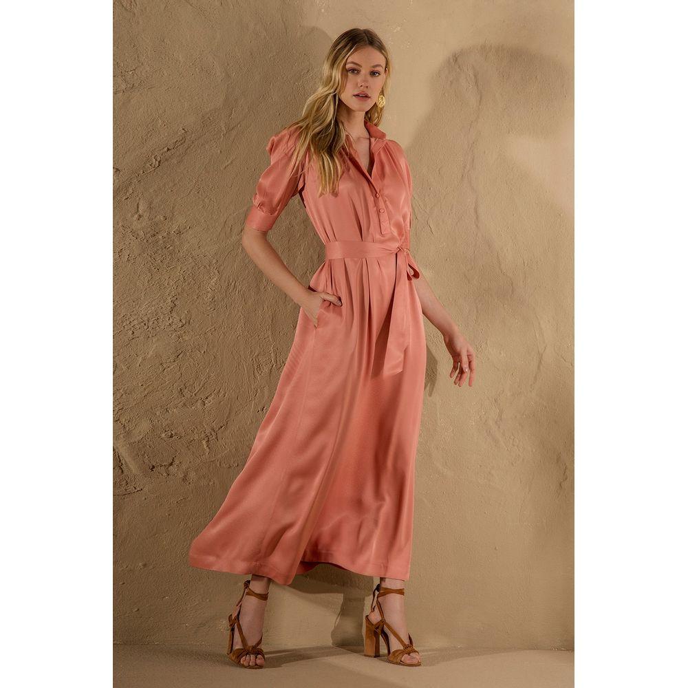 Vestido-Longuete-Faixa-Rose
