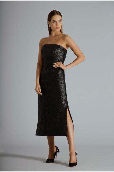 Vestido-Midi-Tweed-Resinado