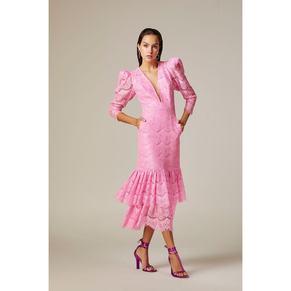 Vestido-Midi-Renda-Rosa-Neon