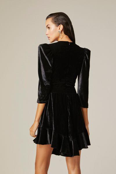 Vestido-Curto-Veludo-Nxt