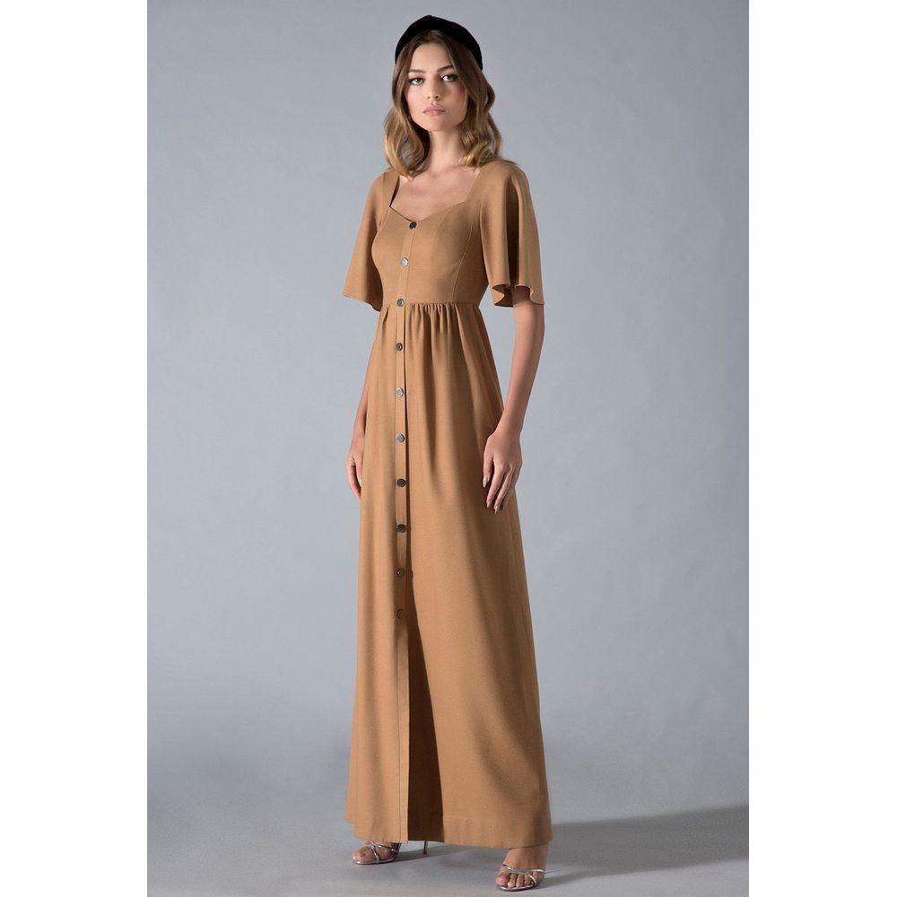 Vestido-Longo-Linho-Camelo