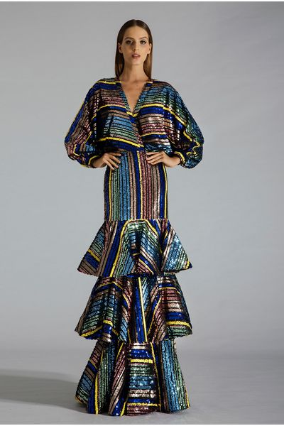 Vestido-Longo-Paete-Camadas