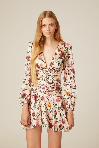 Vestido-Curto-Orchid-Acetinado