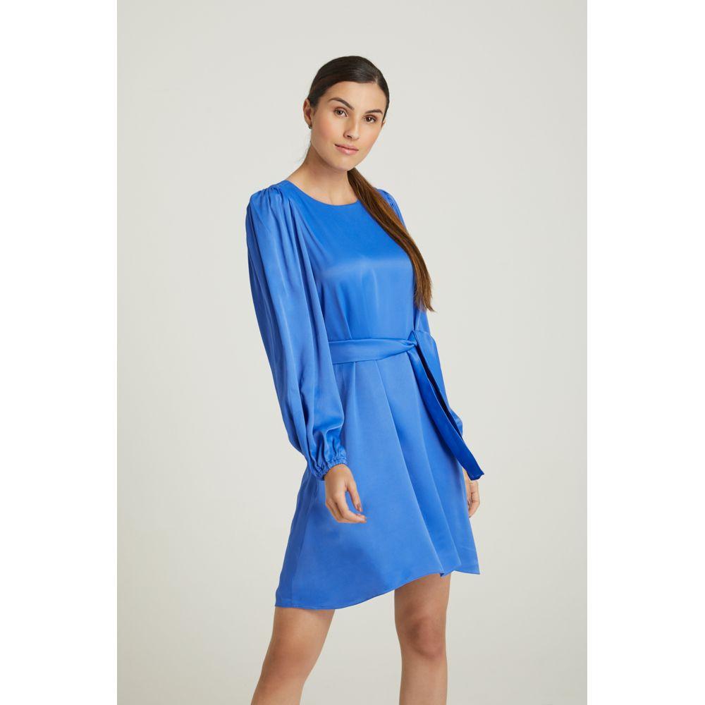 Vestido-Curto-Azul-Royal