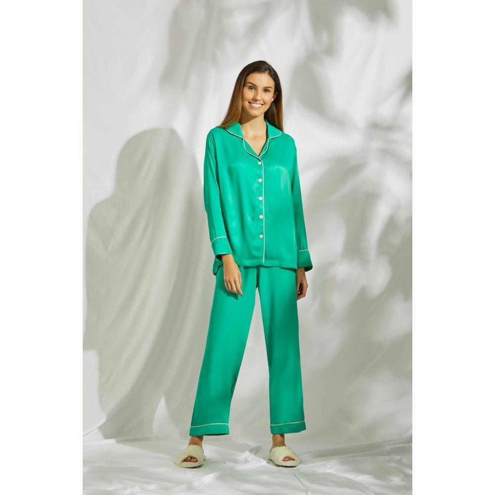 Conjunto-Pijama-Verde-Folha