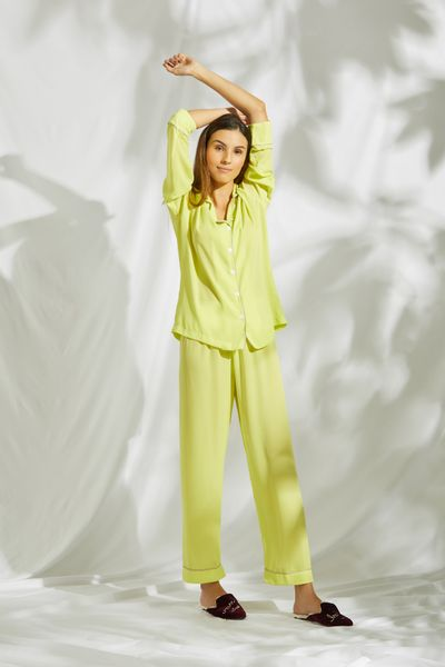Conjunto-Pijama-Verde-Lima