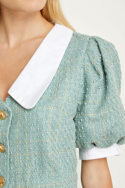 Cropped-Gola-Tweed-Verde