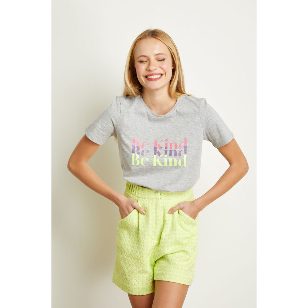 T-Shirt-Be-Kind-Cinza