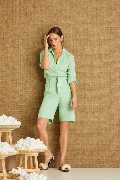 Camisa-Linho-Verde-Menta