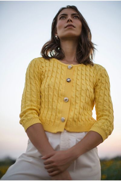 Cardiga-Tricot-Amarelo