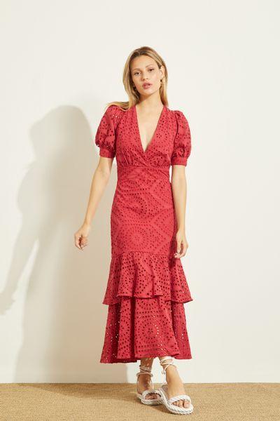 Vestido-Midi-Laise-Vermelho