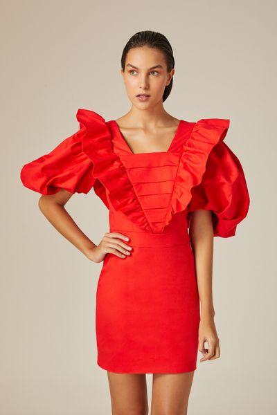 Vestido-Curto-Vintage-Red