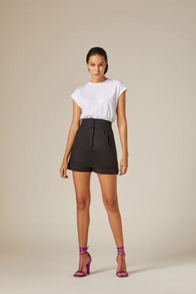 Short-Cotton-Preto-Nxt-