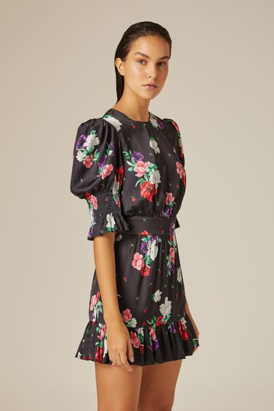 Vestido-Curto-Dark-Flower